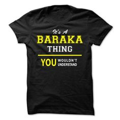 cool It's an BARAKA thing, you wouldn't understand! - Cheap T shirts
