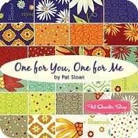 One for You, One for Me YardagePat Sloan for Moda Fabrics