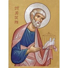 St Joseph, Starting at $3.00. All sizes. Catalog of St. Elisabeth Convent. http://catalog.obitel-minsk.com/ministry #CatalogOfGoodDeed #buy #order #icon #saints #church #orthodox #Christianity #wood #ecclesiastical