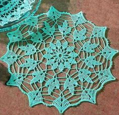 Crochet Art: Crochet - Simple Crochet Doily Pattern Free