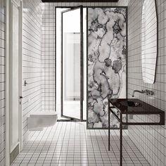 Geode shower screen