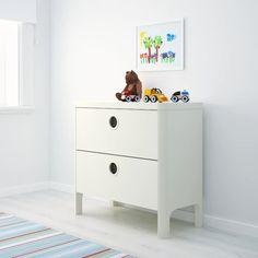 "BUSUNGE 2-drawer chest, white, 31 1/2x29 1/2"" - IKEA"