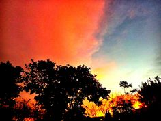 colours in the sky