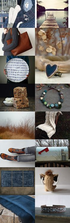 blue autumn by Ewa Lompe on Etsy--Pinned with TreasuryPin.com