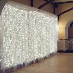 approximately 12 strands of lights and then on each strand there is 25 lights - $25. Amazon.com : AMARS 3M*3M 300 LED Wedding Window Lights Curtain String Fairy Lights Outdoor 110V 8 Modes Background/Wall Lights for Christmas XMAS Party Home Festival Decoration Lighting (Warm White) : Patio, Lawn & Garden Party Girlande, Led Curtain Lights, Icicle Lights, Window Lights, Backdrop Lights, Twinkle Lights, Backdrop Photobooth, Wall Lights, Fairy Light Curtain