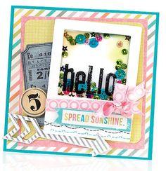 Hello Card by Vicki Boutin