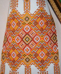 Hutsul embroidery , W Ukraine, from Iryna