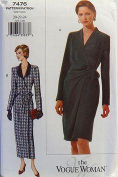 Vogue 7476 Misses' and Misses' Petite Dress