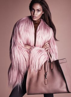 Joan Smalls in the new Gucci Fall/Winter 2014-15 advertising campaign by Mert Alas & Marcus Piggott