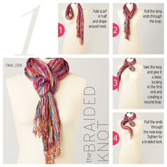 Scarf - The Braided Knot #ColdwaterCreek