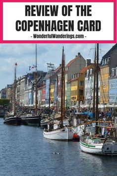 There are plenty of things to do in Copenhagen Denmark but they're not cheap. Check out the Copenhagen Card to save money Denmark Europe, Visit Denmark, Denmark Travel, Packing List For Vacation, Vacation Trips, Packing Tips, Copenhagen Travel, Copenhagen Denmark, Beautiful Places To Travel