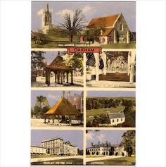 Oakham - 'Collo Colour' unused multi-view #postcard on #eBid United Kingdom