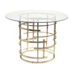 Chairish-pre-owned-jules-42-dining-table-furniture-dining-room-tables-glass-metal