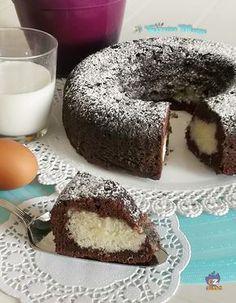 TORTA BOUNTY avete presente il Bounty? la barretta ripieno di cocco e ricoperto di cioccolato? Allora venite a leggere la ricetta http://blog.giallozafferano.it/lacucinadimarge/torta-Bounty/