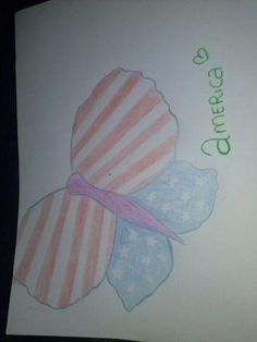 My friend made this for me because she knows how much I love America. So sweet! ♥