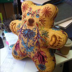 Медведь-подушка для Vogue. - @alenaakhmadullina