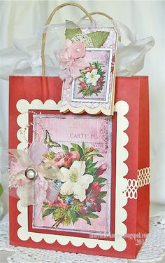 Beautiful gift bag & tag :)