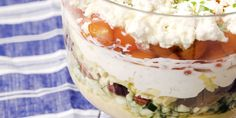 7 layer greek dip