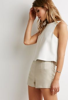 #SALE Vented Flat-Front Shorts | Shop the #SALE at Forever 21