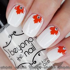 Canada day is here yet again and we have tons of things to do before the time comes, many flags and buntings will be hoisted in the streets and people will pay Nail Polish Hacks, Nail Polish Designs, Nail Art Designs, Spring Nail Art, Spring Nails, Hair And Nails, My Nails, Japan Nail, Canada Day