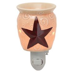 #Rustic Star #Plug-In #Scentsy #Warmer $20.00