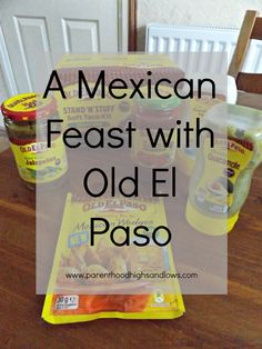 A Mexican Feast with Old El Paso | www.parenthoodhighsandlows.com