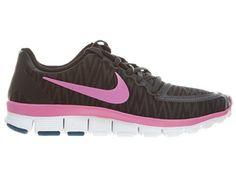 Nike Women's Free 5.0 V4 - Black / Red Violet-White, 8.5 B US