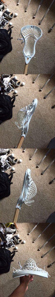 Sticks 62165: Under Armour Vital Lacrosse Head W Ecd Wax Mesh -> BUY IT NOW ONLY: $30 on eBay!