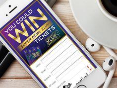 Super Bowl XLVII Mobile Splash Contest