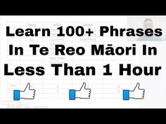 (2) Learn to say 100+ sentences in te reo Māori - YouTube