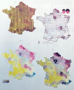 MapCarte 210/365: Multidimensional mapping by Jacques Bertin, 1967 | Commission on Map Design