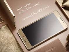 Samsung Launched It's Galaxy Alpha to Compete iPhone 6