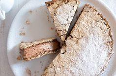 Pusinkový moka dort   Apetitonline.cz Moka, Baked Goods, Cheesecake, Great Recipes, Deserts, Gluten Free, Sweets, Bread, Candy