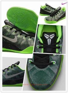 timeless design 0adf8 4cf72 New 652908-303 Green Nike Kobe 9 EM Premium