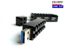32 GB USB 30 Flash Drive in a original Lego 2x6 Brick by databrick, $69.95