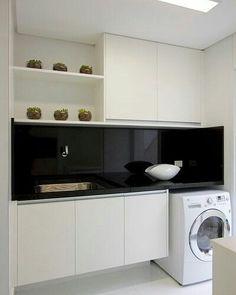 Lavanderia Elegante #imagemdaweb #arqsteinleitao #laundry #lavanderia #interiores http://ift.tt/2jSMKQz