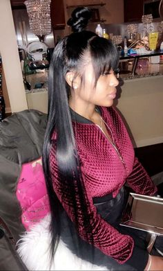 Factory direct sale brazilian straight hair 4 bundles with 360 lace frontal,Uhair mall remy human hair extensions. extensions Brazilian Virgin Hair Straight With 360 Lace Natural Human Hair Extensions Baddie Hairstyles, Ponytail Hairstyles, Frontal Hairstyles, Hairstyles Videos, Short Straight Hair, Straight Hairstyles, Black Hairstyles, Quick Weave Hairstyles, Everyday Hairstyles