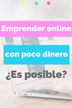 ¿Quieres emprender online pero tienes poco presupuesto? tranquila, en este post te cuento como empezar tu negocio digital con poco dinero pero profesional.