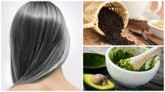 Reduces the premature appearance of gray hair with these 6 home remedies Double Menton, Peeling, Belleza Natural, Home Remedies, Natural Hair Styles, Ethnic Recipes, Food, Gray Hair, White Hair