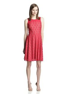 56% OFF Muse Women's Lace Fit-and-Flare Dress