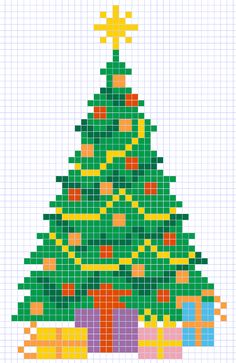 Weihnachtsbaum Christmas Perler Beads, Cross Stitch Christmas Ornaments, Xmas Cross Stitch, Cross Stitch Cards, Christmas Cross, Cross Stitching, Christmas Tree, Wedding Cross Stitch Patterns, Cross Stitch Designs
