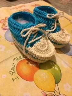 Zapato estiló convers crochet