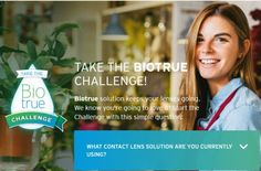 Bausch + Lomb Biotrue Contact Lens Solution Free Sample - US