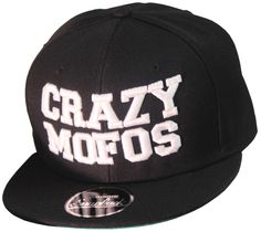 3D Crazy Mofos™ Snapbacks