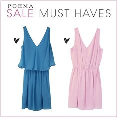 Sale Campaign, Must Haves, Summer Dresses, Casual, Shop, Fashion, Poem, Moda, Summer Sundresses