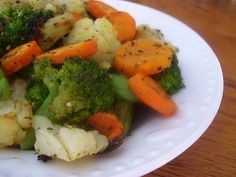 Garlic and Herb Oven Roasted Vegetables