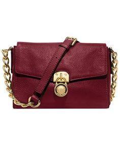 MICHAEL Michael Kors Handbag, Hamilton Small Messenger Bag - Crossbody & Messenger Bags - Handbags & Accessories - Macy's