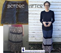 DIY Maternity Skirt Refashion - Revealing Mini to Modest Maxi - Skirt Fixation Maternity Fashion, Maternity Skirts, Maternity Style, Lace Skirt, Sequin Skirt, Refashion, Pregnant Lady, Sewing Projects, Pregnancy Style