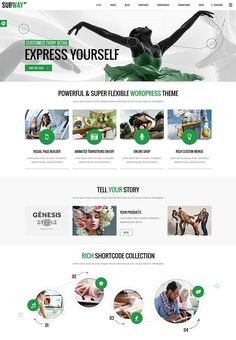 Best WordPress Themes of October 22, 2013. #best_wordpress_themes_2013