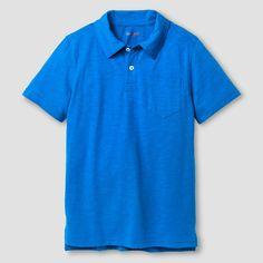 Boys' Polo Shirt Cat & Jack - Blue Xxl, Boy's